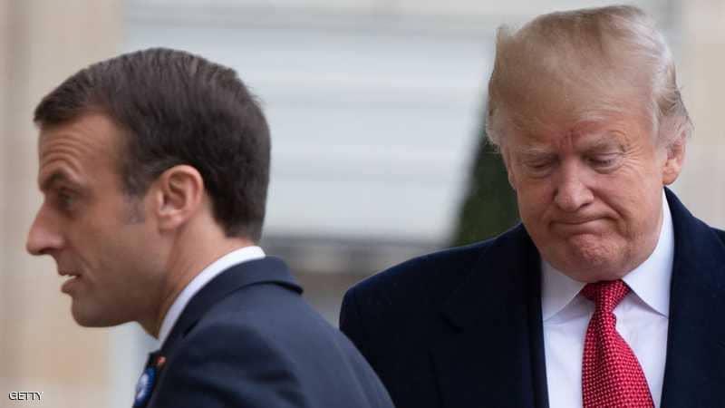 Photo of ماكرون: فرنسا ليست تابعة لأميركا.. وترامب يلعب
