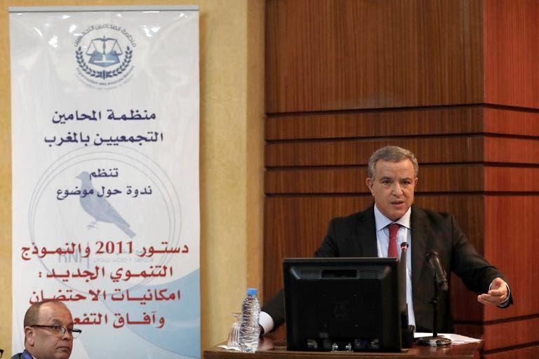 cea1c3c83 أكد محمد أوجار وزير العدل على استقلالية القضاء بالمغرب إنجاز تاريخي، رافضاً  أي تجاوز يمكن أن تنهجه أطراف معينة، للإفشال هذا الإنجاز .