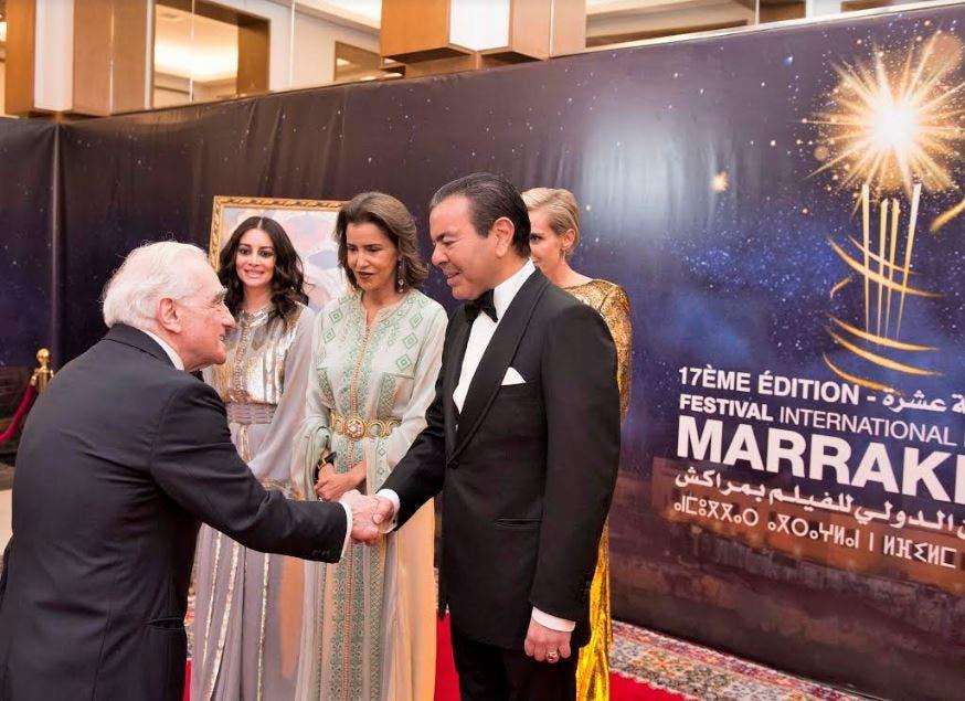 Photo of عشاء فاخر يجمع الأمير مولاي رشيد و أفراد الأسرة الملكية بنجوم السينما العالمية
