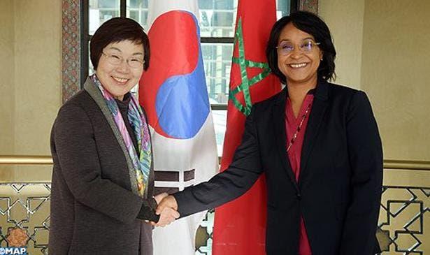 Photo of المغرب والوكالة الكورية الجنوبية للتعاون الدولي يبحثان سبل تعزيز التعاون