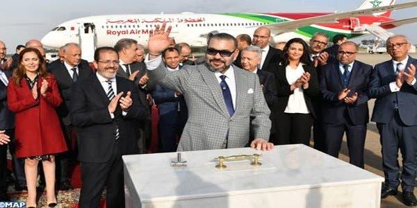 Photo of الملك يضع الحجر الأساس لمحطة جوية جديدة بمطار الرباط -سلا