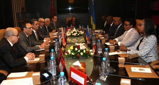 """7d54c2d0e أكدت رئيسة مجلس النواب بجمهورية رواندا دوناتيلي موكاباليزا، أمس الأربعاء 19  دجنبر بالرباط، أن المغرب ورواندا تجمعهما علاقات """"متميزة"""" تتطلع إلى """"مستوى  أكبر""""."""