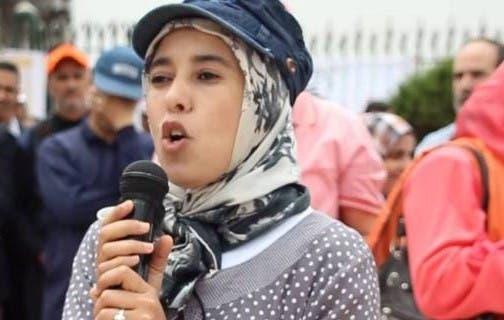 "Photo of فضيحة ""ماء العينين"" وهي تعترف ..مطلوب لجوء حزبي عاجل !!"