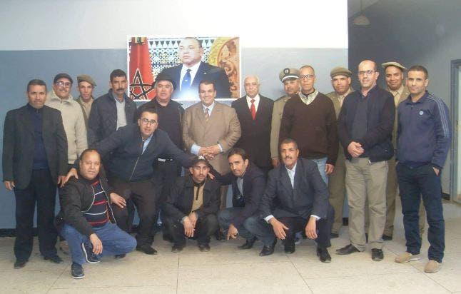 Photo of تكريم مجموعة من المسؤولين بقيادة رأس العين