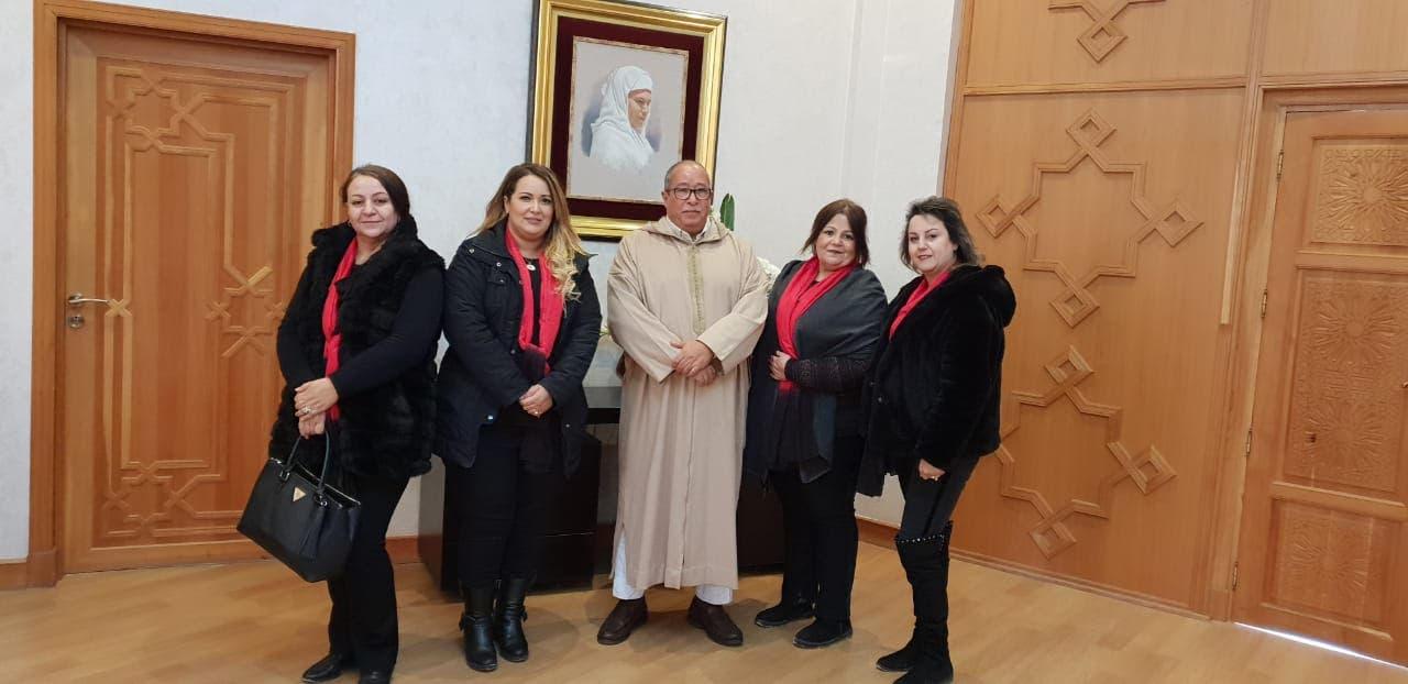 Photo of جمعية نساء مراكش تقوم بزيارة مقر جهة مراكش اسفي