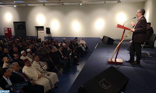 Photo of بروكسل : إبراز النموذج المغربي للتدين خلال لقاء مع الأئمة والقيمين الدينيين ببلجيكا