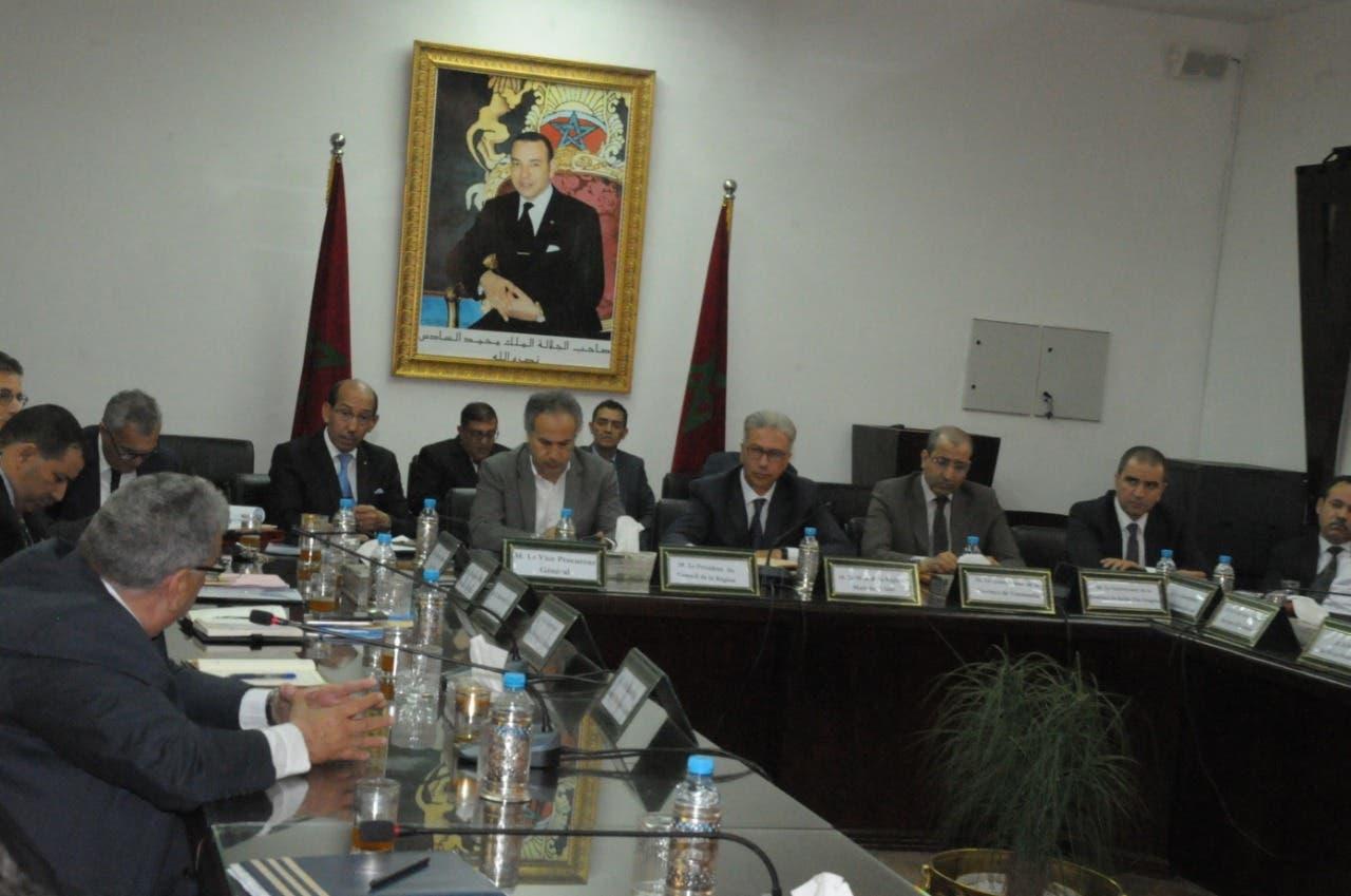 Photo of اجتماع اللجنة الجهوية للسلامة الطرقية بولاية جهة مراكش اسفي