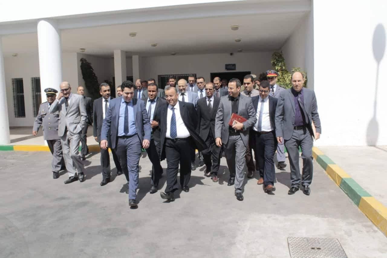"""Photo of لجنة إقليمية """" تزور """" السجن المحلي لأيت ملول"""
