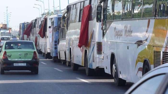 "Photo of وزارة النقل: ""الاجتماع مع مهنيي نقل المسافرين مر في أجواء جادة"""