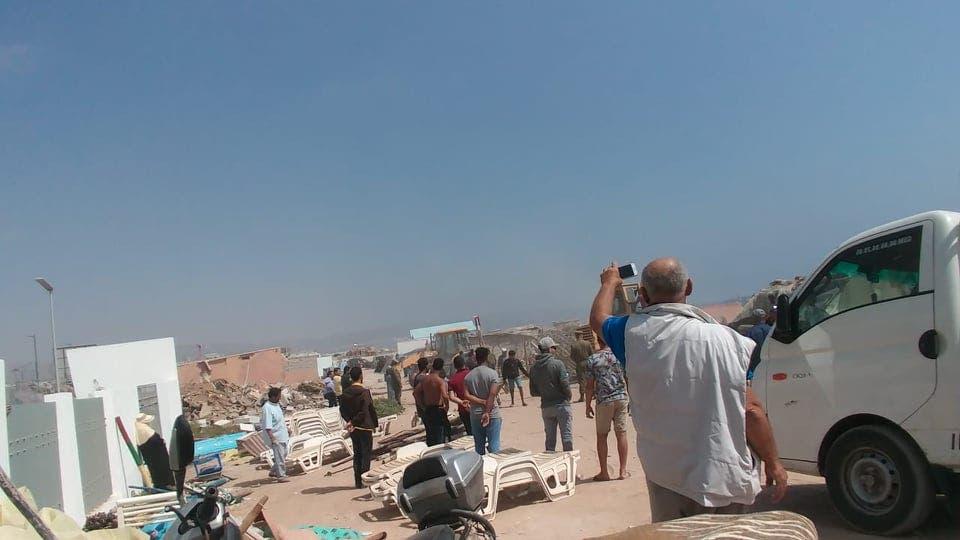 Photo of أكادير : تسخير قوات الامن وجرافات لتحرير الملك البحري