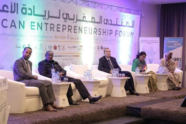 ريادة الأعمال تجمع ديبلوماسيين و مسؤولين مغاربة وأفارقة بورزازات