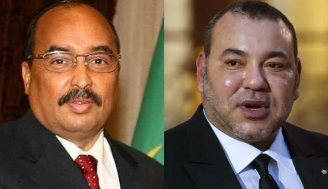 الملك يتوصل ببرقية من طرف الرئيس الموريتاني .. وهذا مضمونها