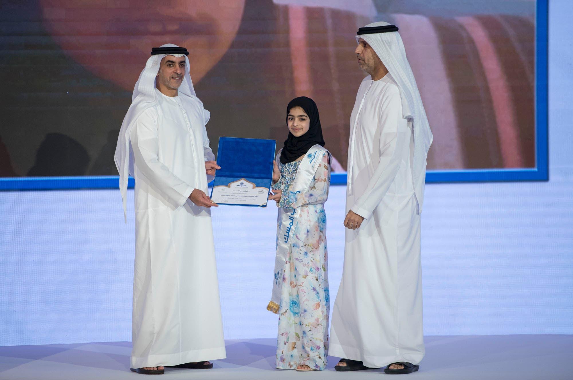 Photo of صغيرات المغرب يبهرن العالم و يتوجن بالجوائز الأولى لحفظ القرأن في الإمارات