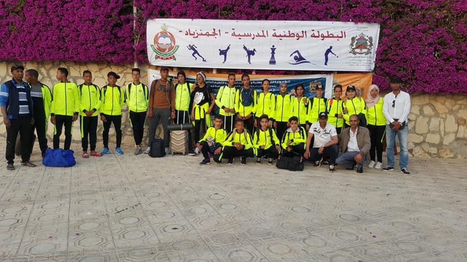 Photo of 08 ميداليات حصيلة اكاديمية درعة تافيلالت في البطولة الوطنية المدرسية للجمنزياد