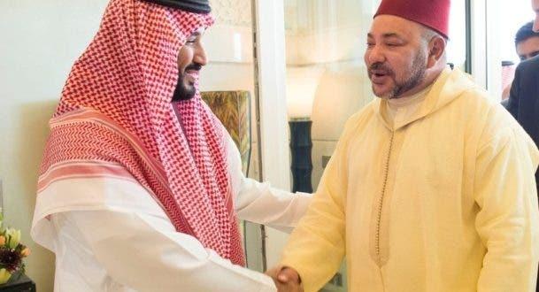 """ولي العهد السعودي يبرق الملك : """"متمنياتنا لكم بموفور الصحة والسعادة"""""""