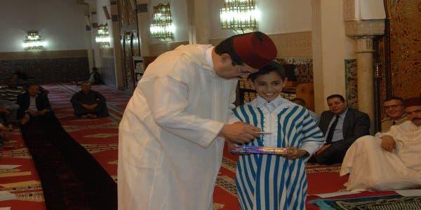 Photo of عامل إفران يشرف على عملية توزيع جوائز في مسابقة تجويد القران