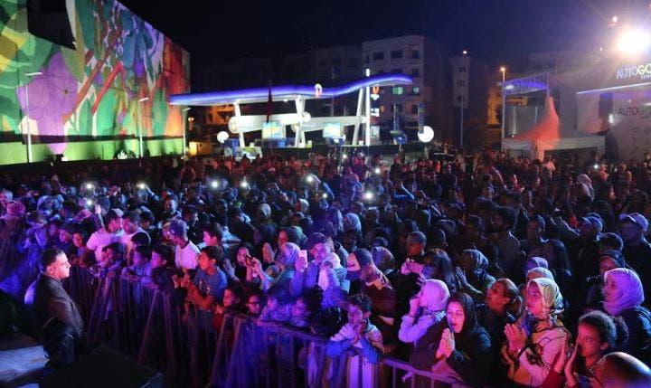 Photo of واحدة من أكبر الجداريات بالمغرب ترى النور بعين السبع