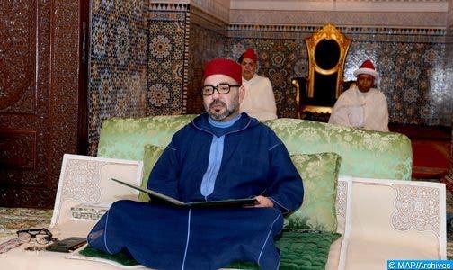 Photo of الملك يترأس الدرس الرابع من سلسلة الدروس الحسنية الرمضانية