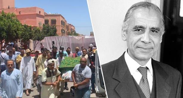 Photo of في جو مهيب .. تشييع جنازة الفنان الراحل عبد الله العمراني بمراكش