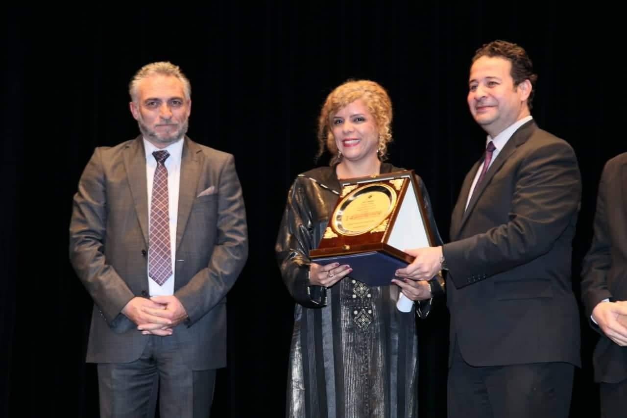 Photo of المخرجة بشرى ايجورك تكرم بعمان