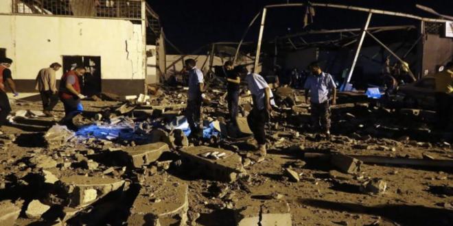 Photo of السفارة المغربية بتونس: إصابة 6 مغاربة بحادث قصف مركز للاجئين