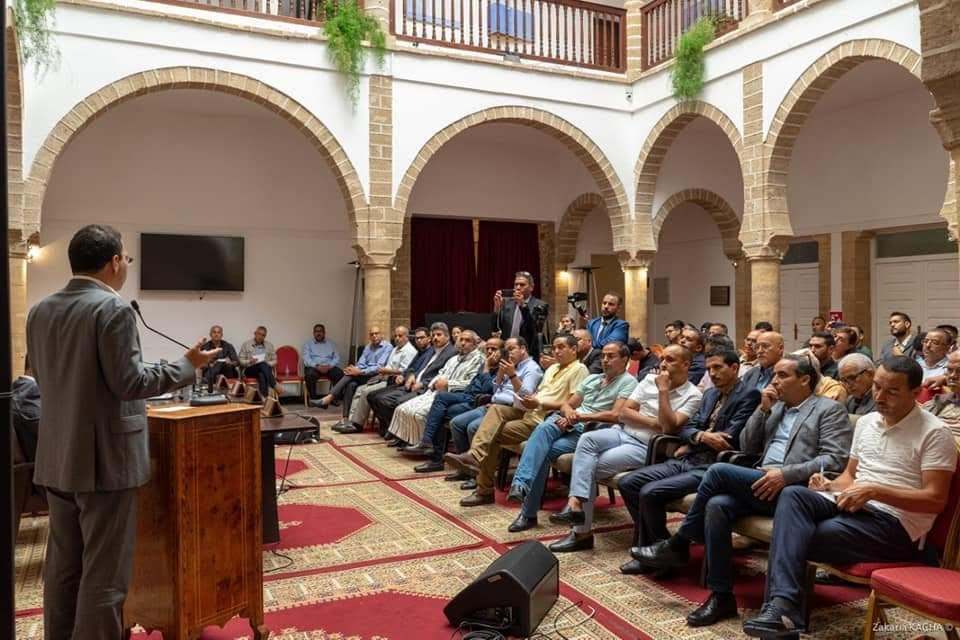 Photo of انطلاق المرافعة المتوسطية من اجل القضية الوطنية بمدينة الصويرة