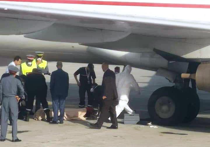 Photo of غيني يصل إلى المغرب جثة هامدة في عجلات طائرة