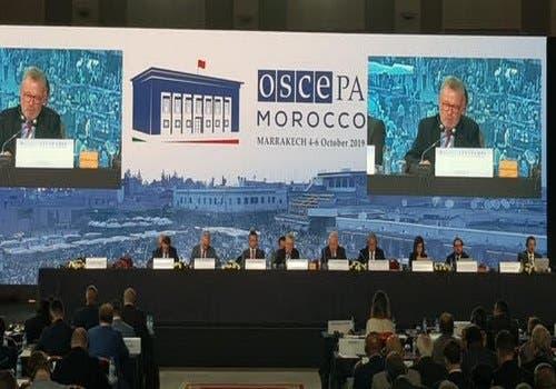 "Photo of مراكش: انطلاق اشغال ""الجمعية البرلمانية لمنظمة الأمن والتعاون في أوروبا"""