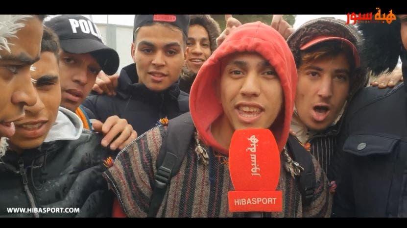 Photo of الجمهور الودادي والرجاوي حاضر بقوة لتشجيع الطاس