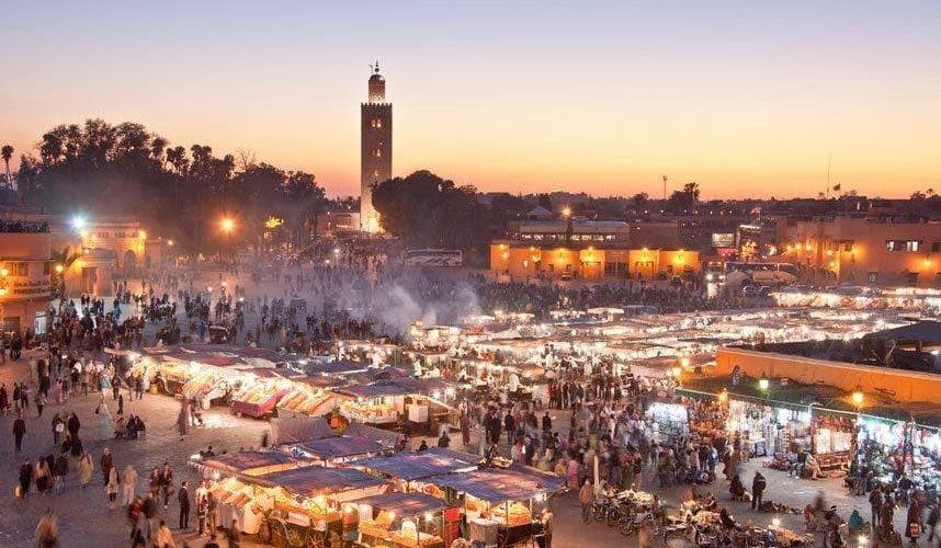 "Photo of مجلة ألمانية: ""الزمن في مراكش لا يتوقف"""