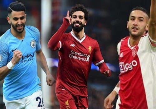 """Photo of 10 لاعبين عرب في قائمة المرشحين لجائزة """"الأفضل في أفريقيا"""""""
