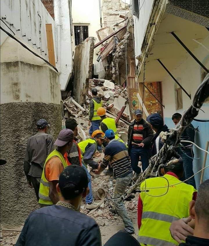 Photo of مصرع شخص في انهيار منزل بالمدينة القديمة بطنجة