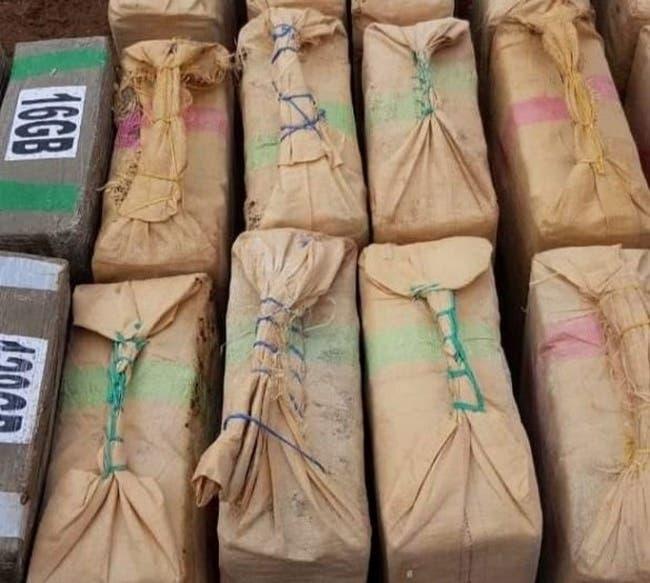 Photo of حجز 13 طنا من الحشيش وسط قطع كبيرة من الرخام بفاس