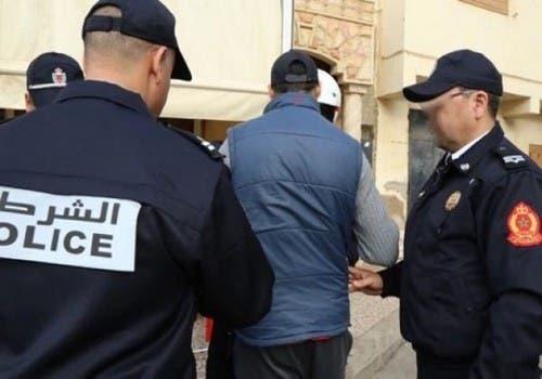 Photo of أمن أكادير يعتقل شخصا حرض في شريط فيديو على العنف ضد خصم لحسنية أكادير