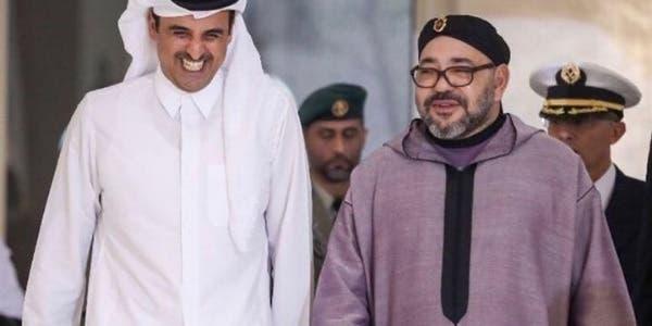 Photo of الملك محمد السادس : نشيد بمستوى العلاقات المغربية القطرية