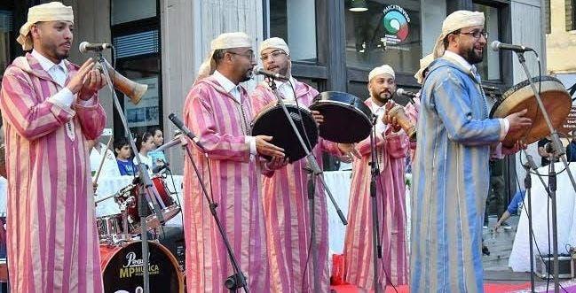 Photo of مجموعة عبيدات الرمى تخلق الحدث الفني في نيودلهي