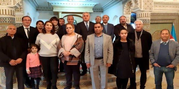 """Photo of سفارة أذريبدجان بالرباط تعيد الذكرى 16 للراحل""""""""Haydar Aliyev""""إلى الواجهة"""