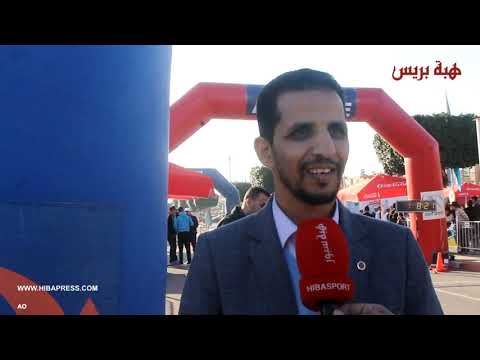 Photo of السباق الأول على الطريق بآيت ملول يعرف مشاركة عدائين من مختلف المدن المغربية