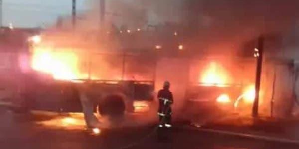 "Photo of ليلة ""البوناني"" .. النيران تلتهم تجهيزات معمل وتخلف خسائر مادية بانزكان"