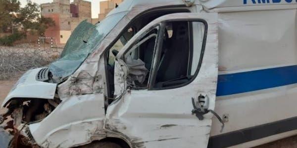 Photo of وفاة حامل واصابة آخرين في حادث اصطدام بين رموك وسيارة إسعاف نواحي فاس