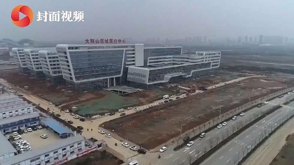 "Photo of فيديو لا يُصدق .. ""في يومين فقط"" الصين تنشئ أول مستشفى لمعالجة مصابي كورونا"