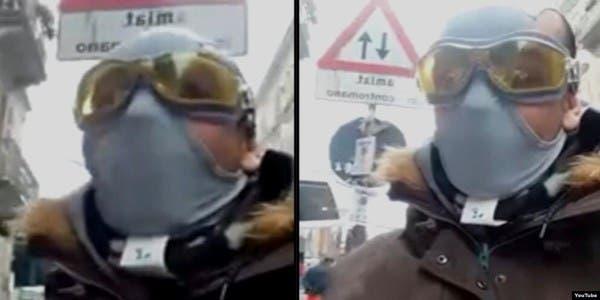 Photo of مغربي في إيطاليا يواجه كورونا بلباس داخلي! فيديو