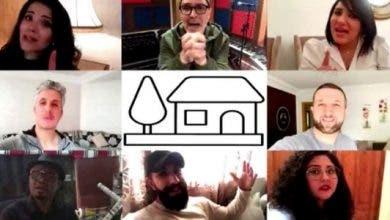 Photo of بالفيديو.. أزمة كورونا تجمع الفنانين والممثلين المغاربة في فيديو غنائي