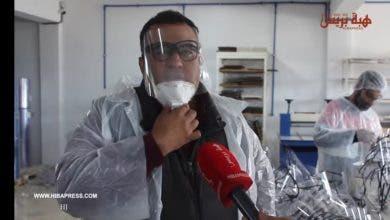 Photo of شباب مهندسون يصنعون أقنعة جديدة واقية من فيروس كورونا والدفعة الأولى مجانية لوزارة الصحة