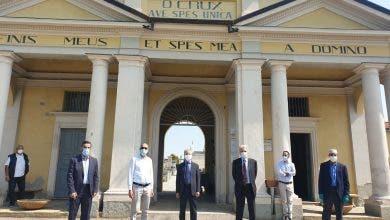 Photo of ايطاليا.. قنصل المملكة بطورينو وعمدة ريفالطا يزوران مقبرة دفن المسلمين