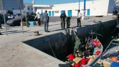 "Photo of حجز 4 أطنان من المخدرات بعد مطاردة ""هوليودية"" بسواحل طنجة"