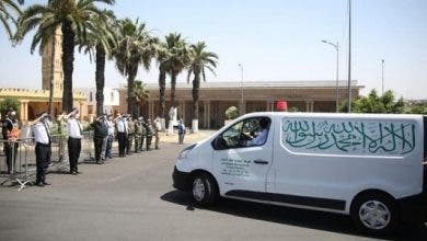 Photo of وسط تدابير احترازية مشددة .. تشييع جثمان عبد الرحمان اليوسفي  بمقبرة الشهداء بالبيضاء + فيديو
