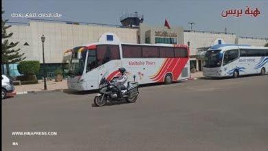 Photo of وصول أول وفد من المغاربة العالقين بالجزائر لمطار وجدة (فيديو)