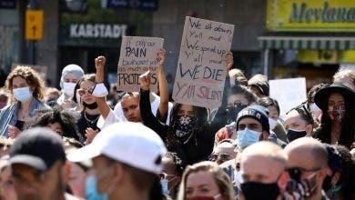 Photo of احتجاجات أمريكا.. متظاهرون يطالبون برحيل ترامب