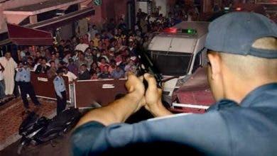 Photo of أمن برشيد يشهر سلاحه لإيقاف شخص هدد الشرطة و كسر واجهات 4 سيارات